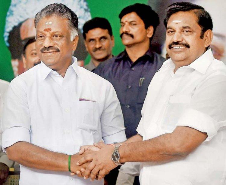 விரைவில் அதிமுக உட்கட்சி தேர்தல்... ஓ.பி.எஸ்., இ.பி.எஸ். தலைமையில் ஆலோசனைக் கூட்டம்...